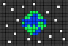 Alpha pattern #18223