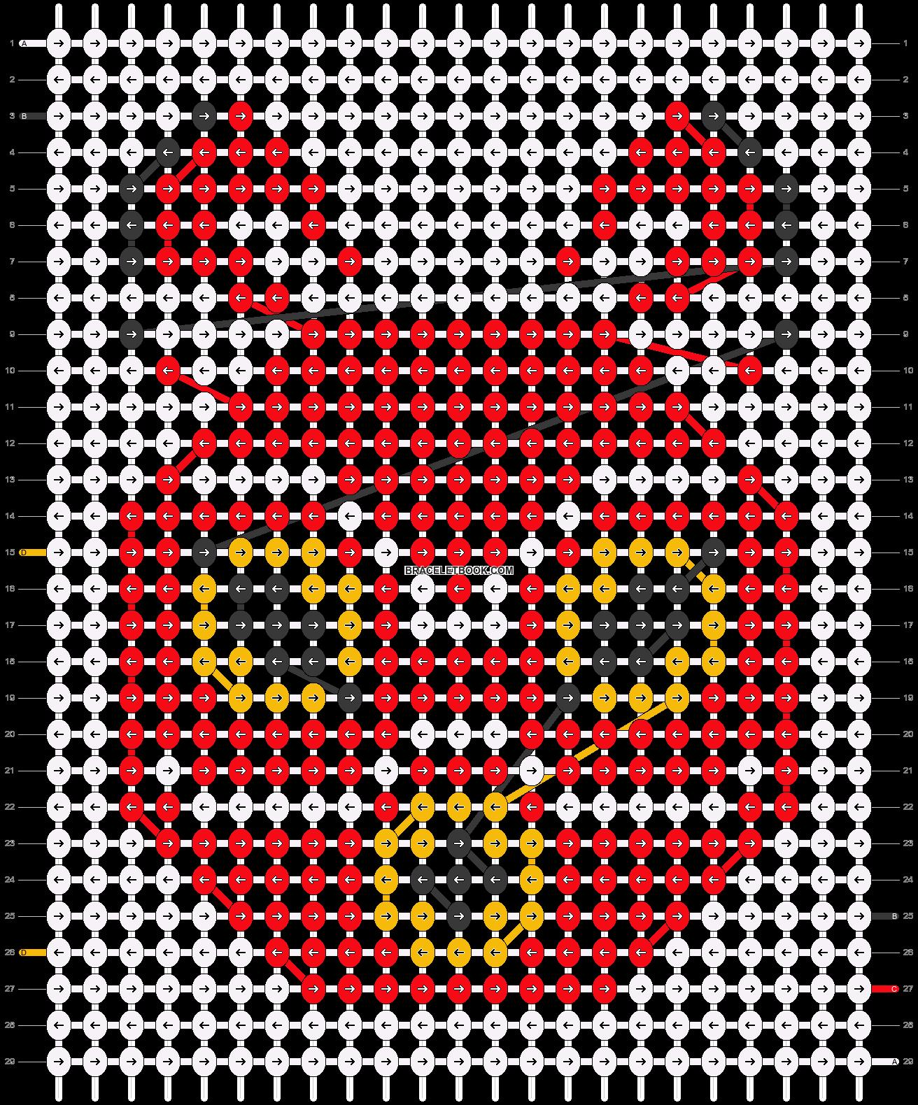 Alpha pattern #18224 pattern