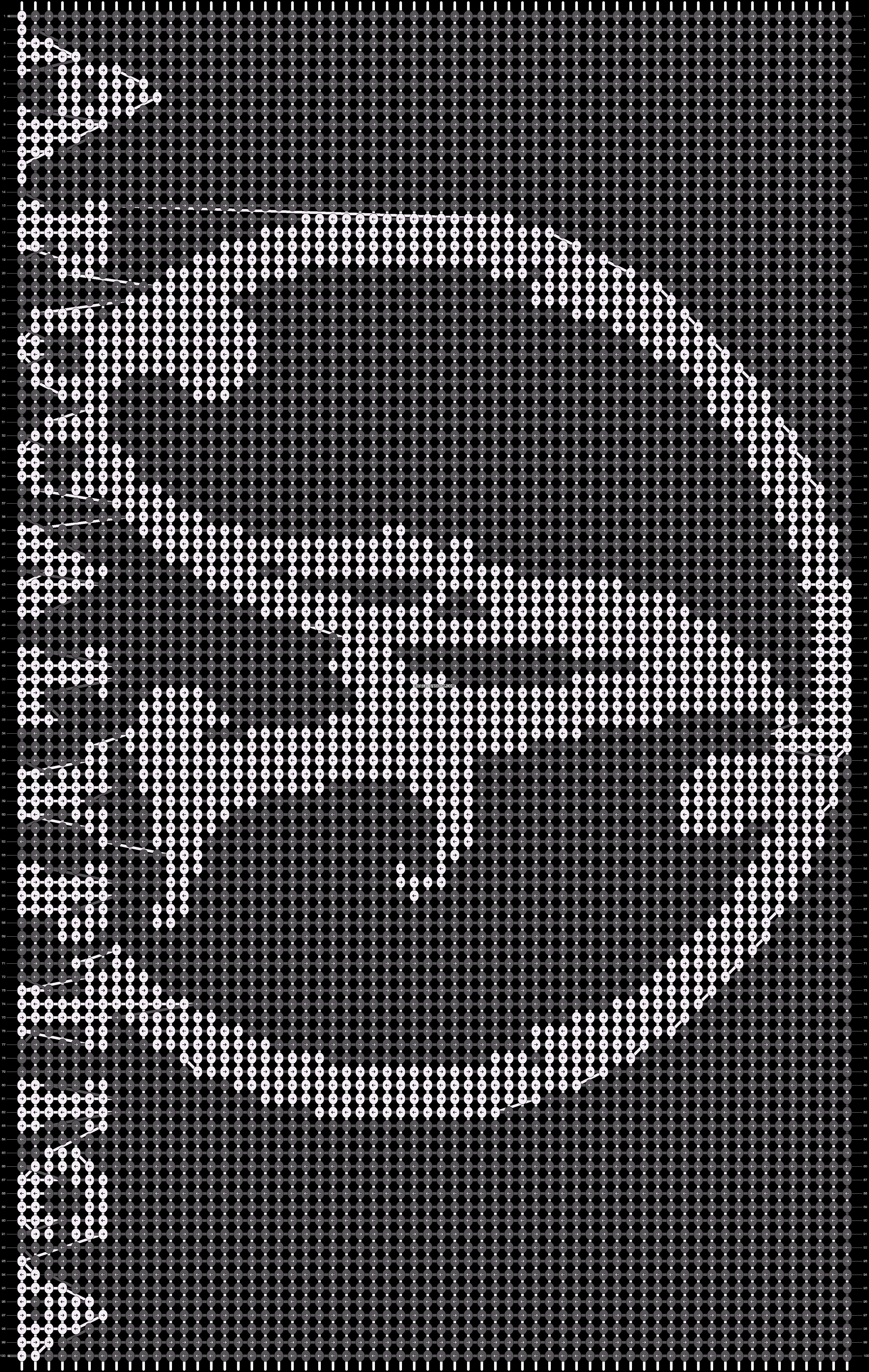 Alpha pattern #18239 pattern