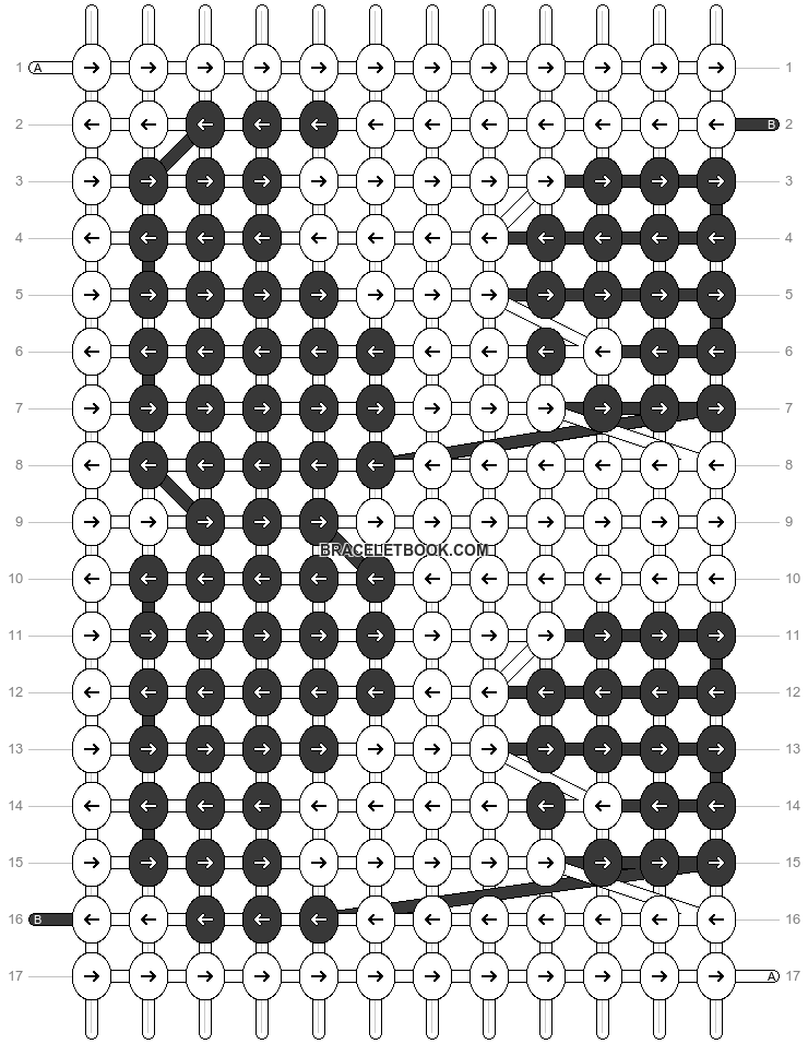 Alpha pattern #18244 pattern