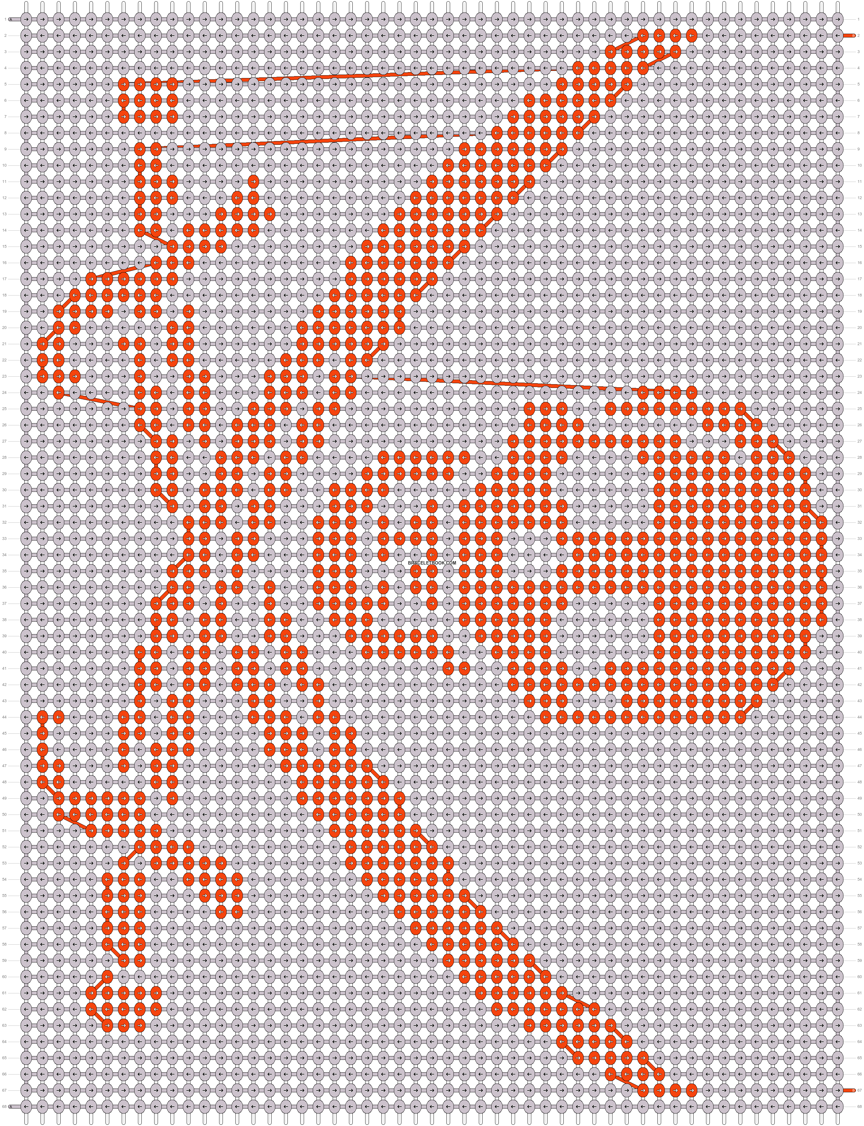 Alpha pattern #18251 pattern