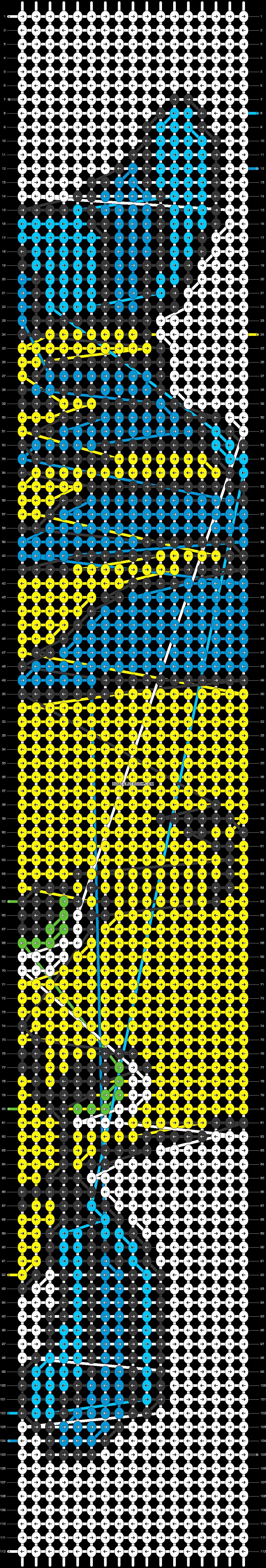 Alpha pattern #18253 pattern