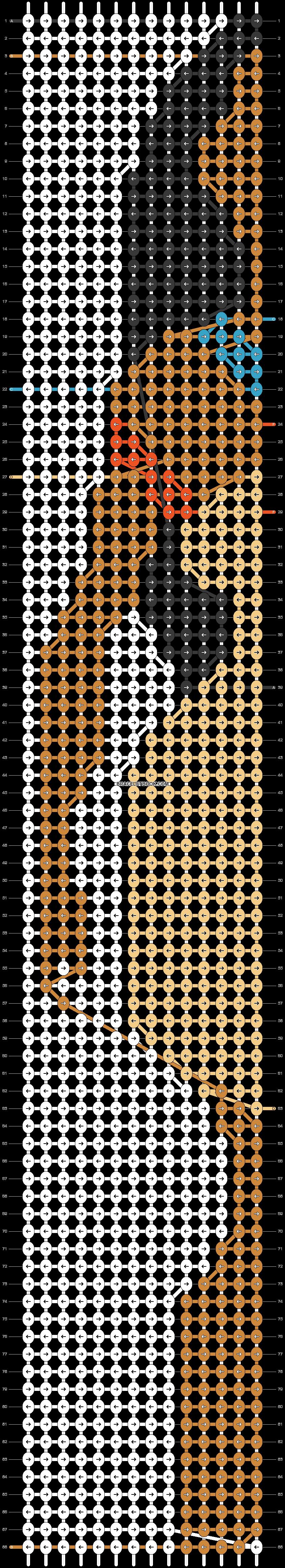Alpha pattern #18254 pattern