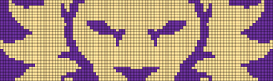 Alpha Friendship Bracelet Pattern #18255