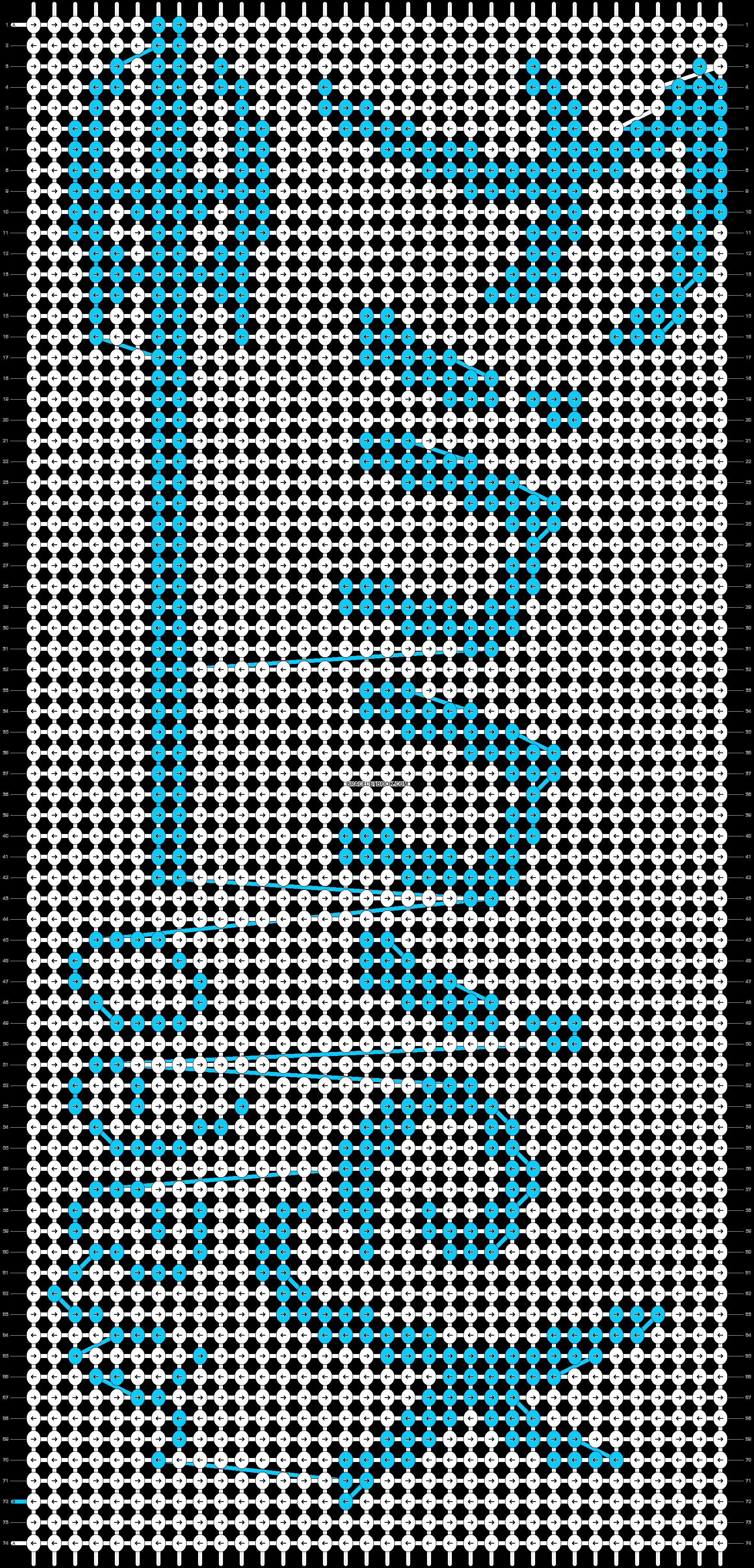Alpha pattern #18256 pattern
