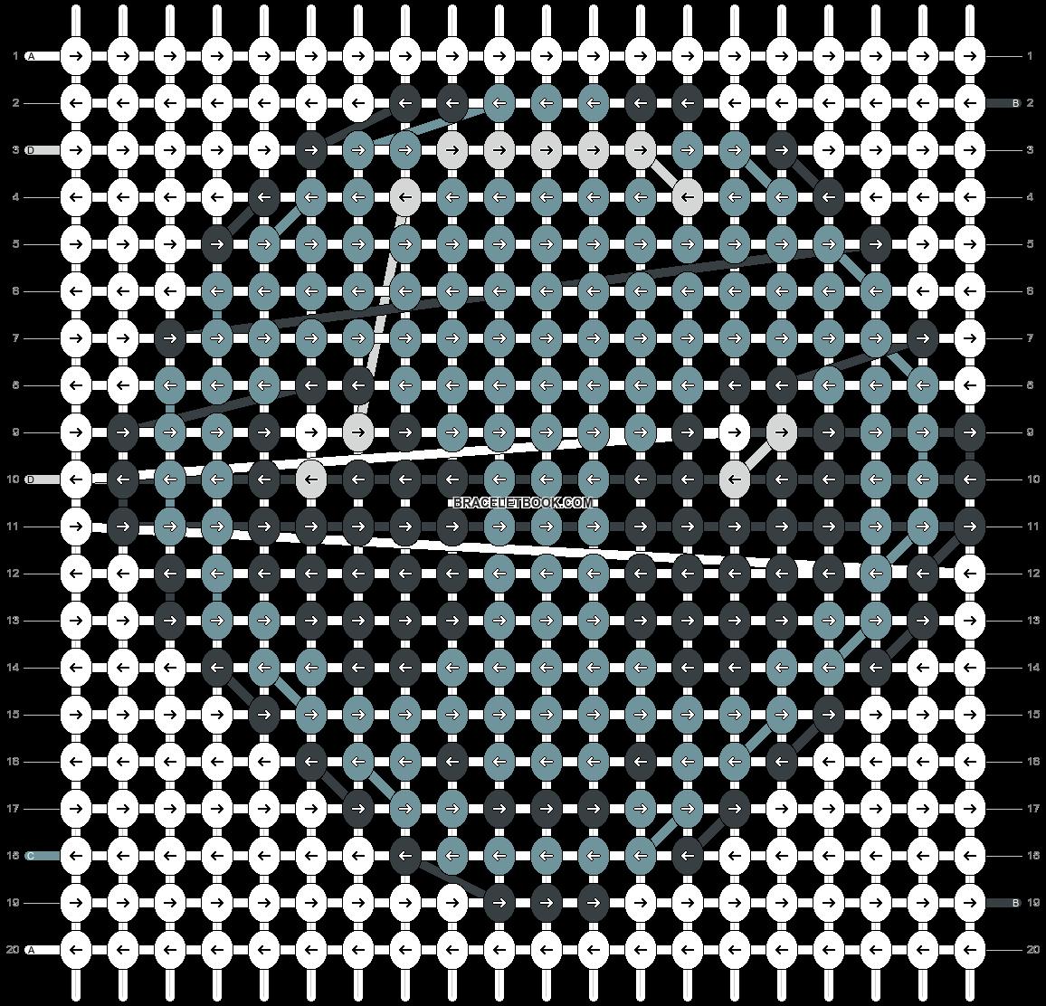 Alpha pattern #18259 pattern