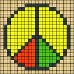 Alpha pattern #18263