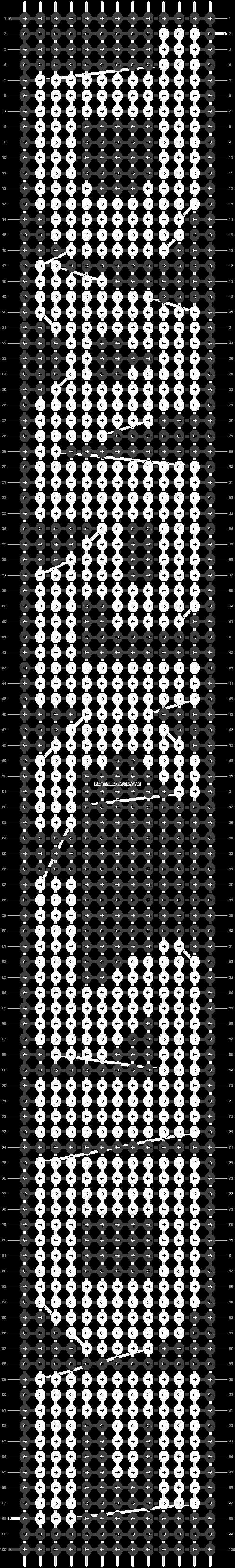 Alpha pattern #18265 pattern