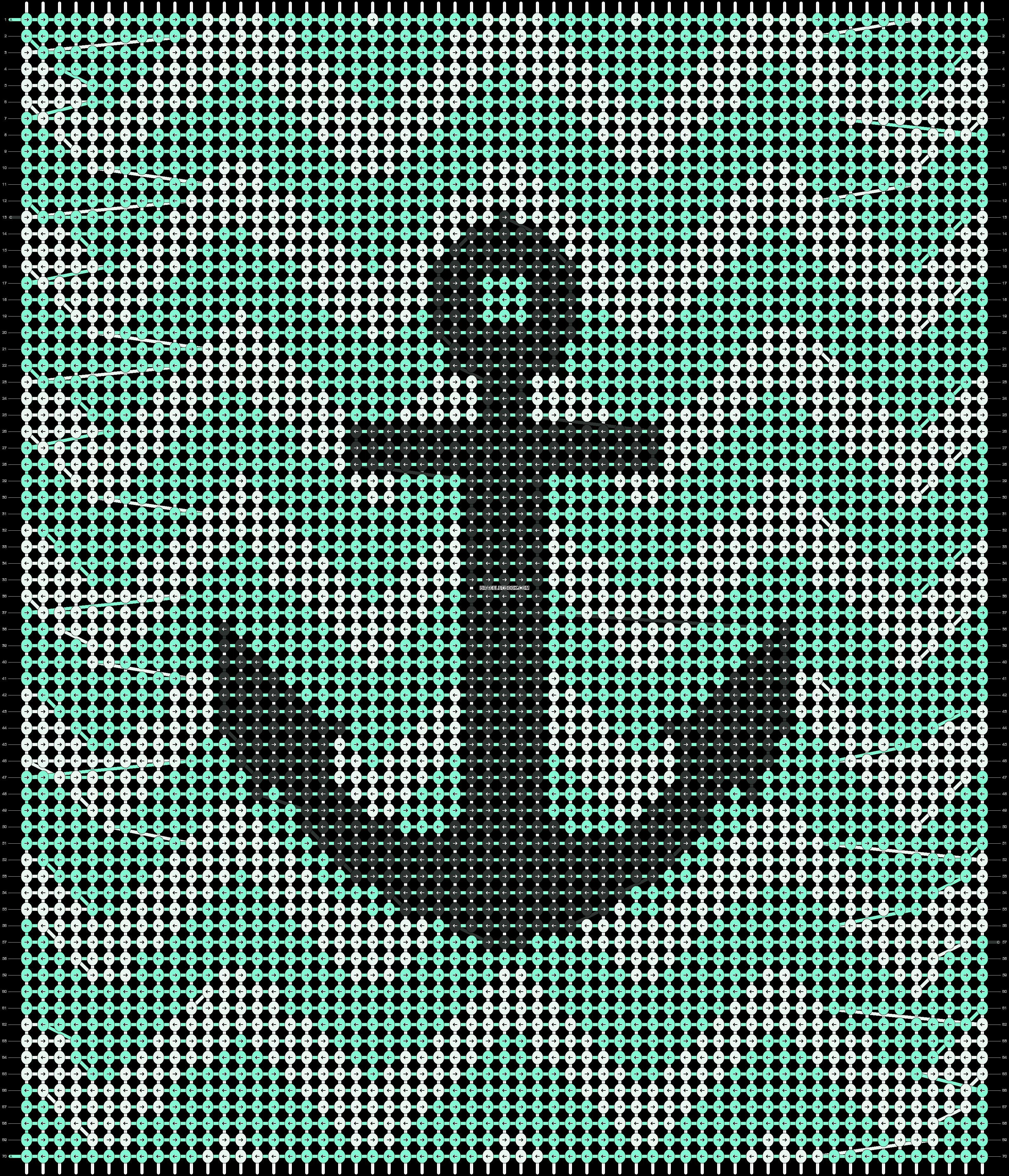 Alpha pattern #18268 pattern