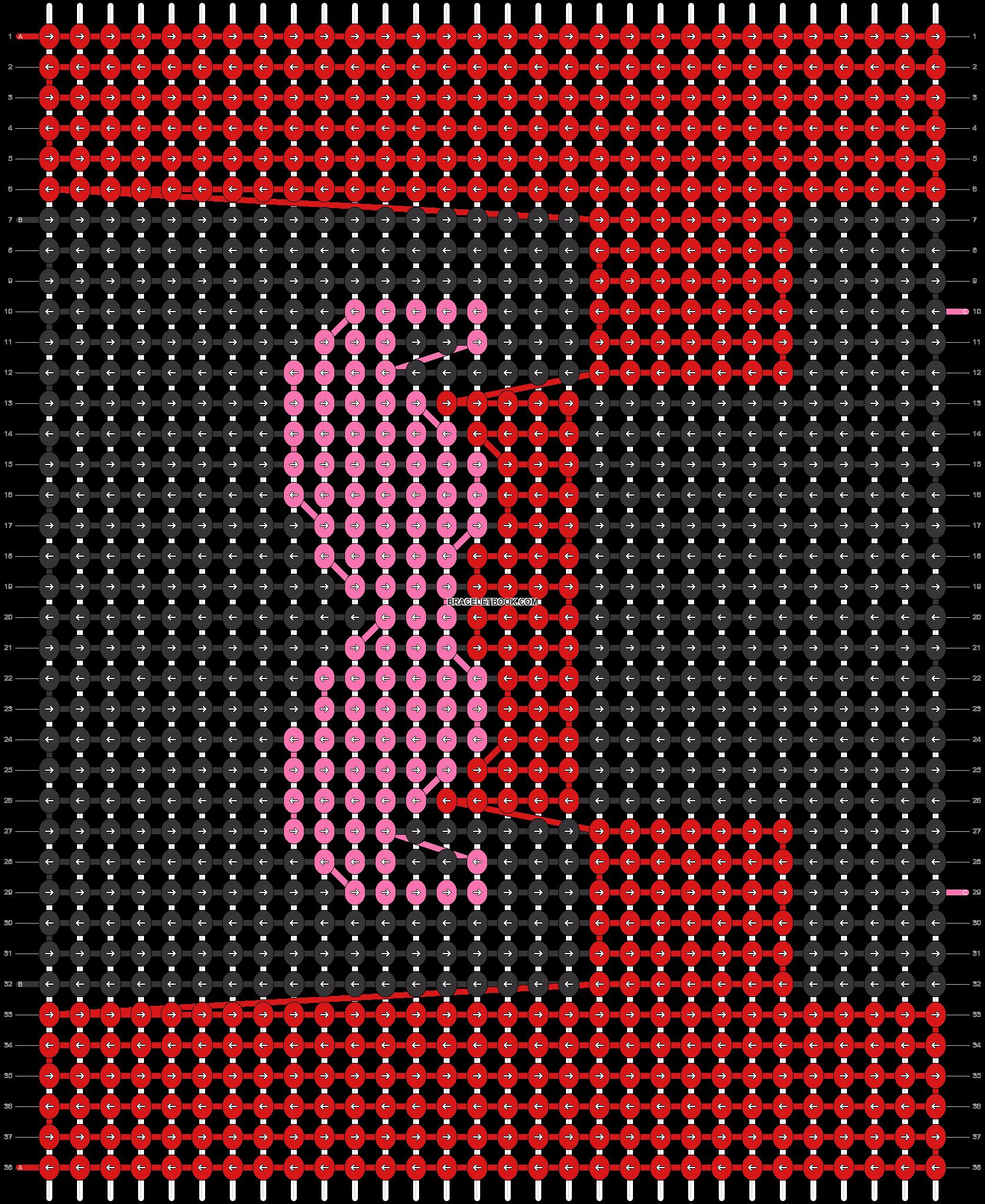 Alpha pattern #18269 pattern