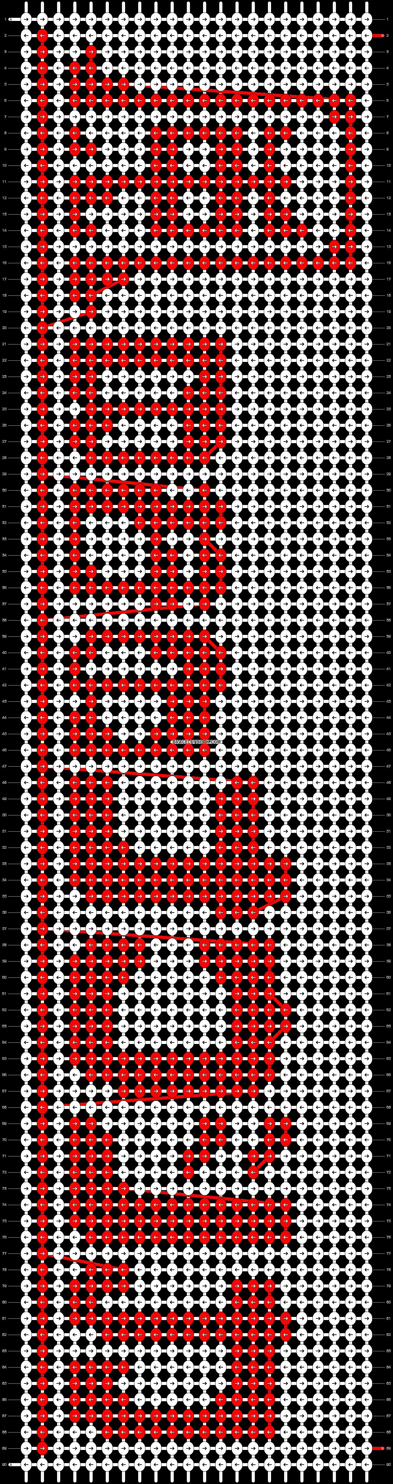 Alpha pattern #18273 pattern
