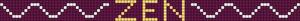 Alpha Friendship Bracelet Pattern #18280