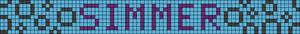 Alpha Friendship Bracelet Pattern #18282