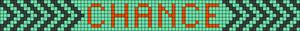 Alpha Friendship Bracelet Pattern #18283