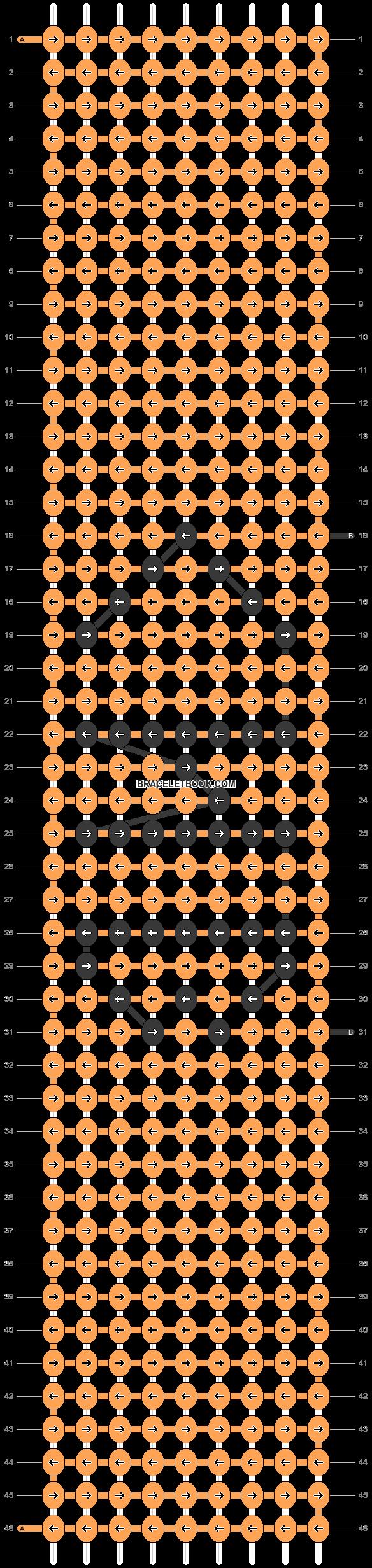 Alpha pattern #18289 pattern