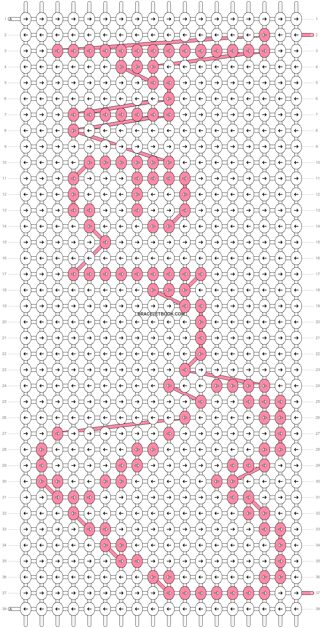 Alpha pattern #18290 pattern