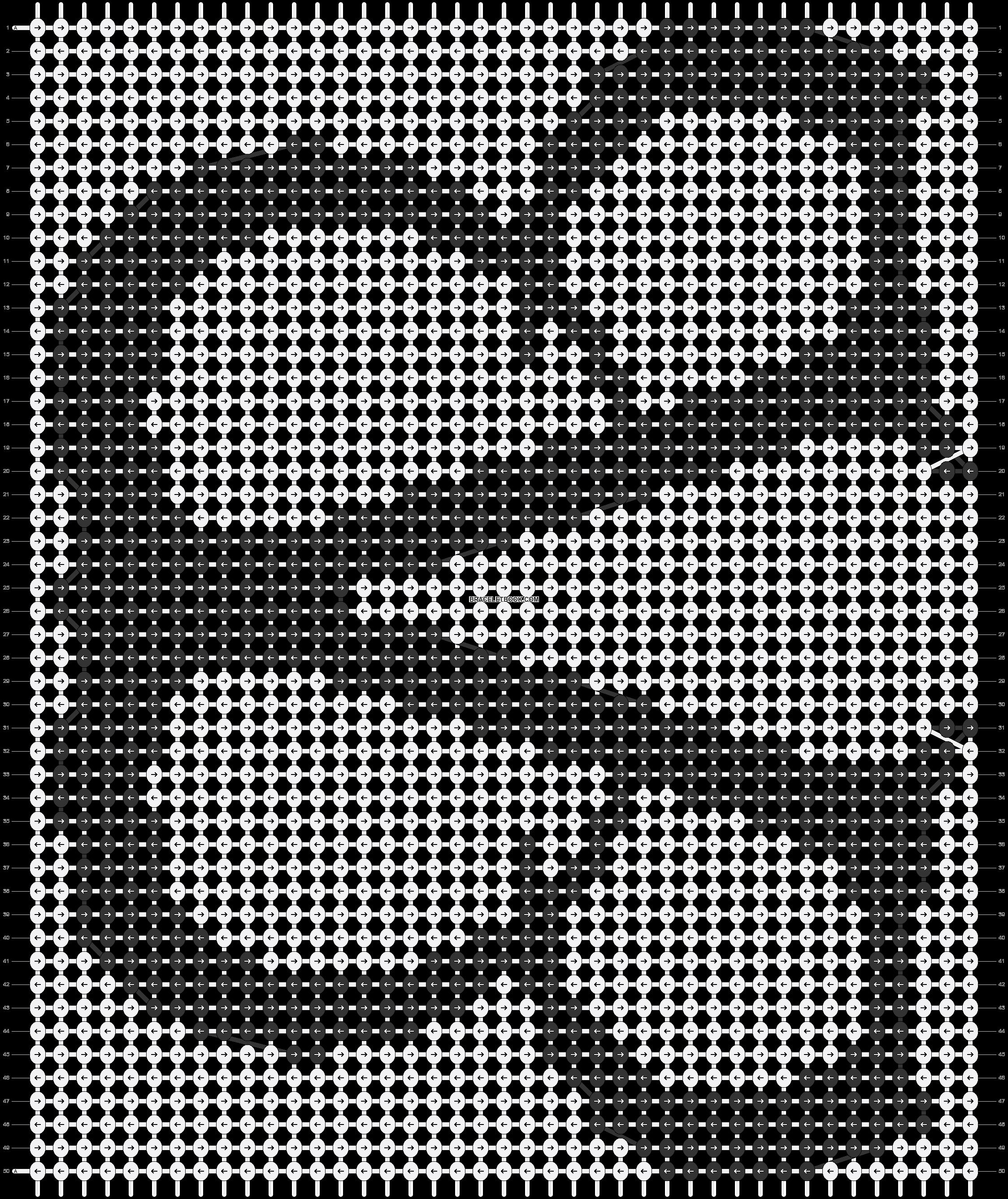 Alpha pattern #18293 pattern