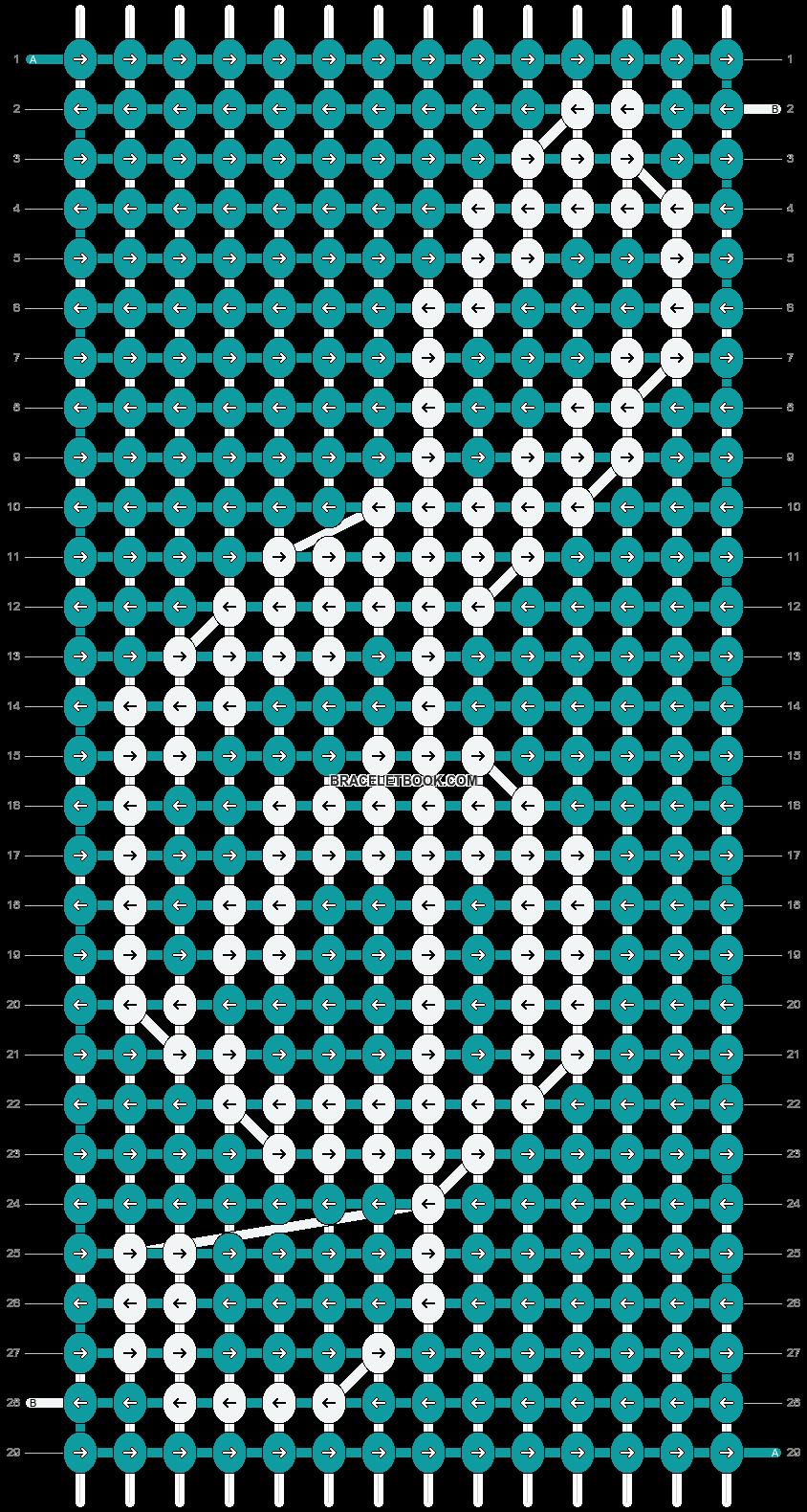 Alpha pattern #18296 pattern