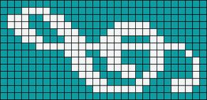 Alpha Friendship Bracelet Pattern #18296