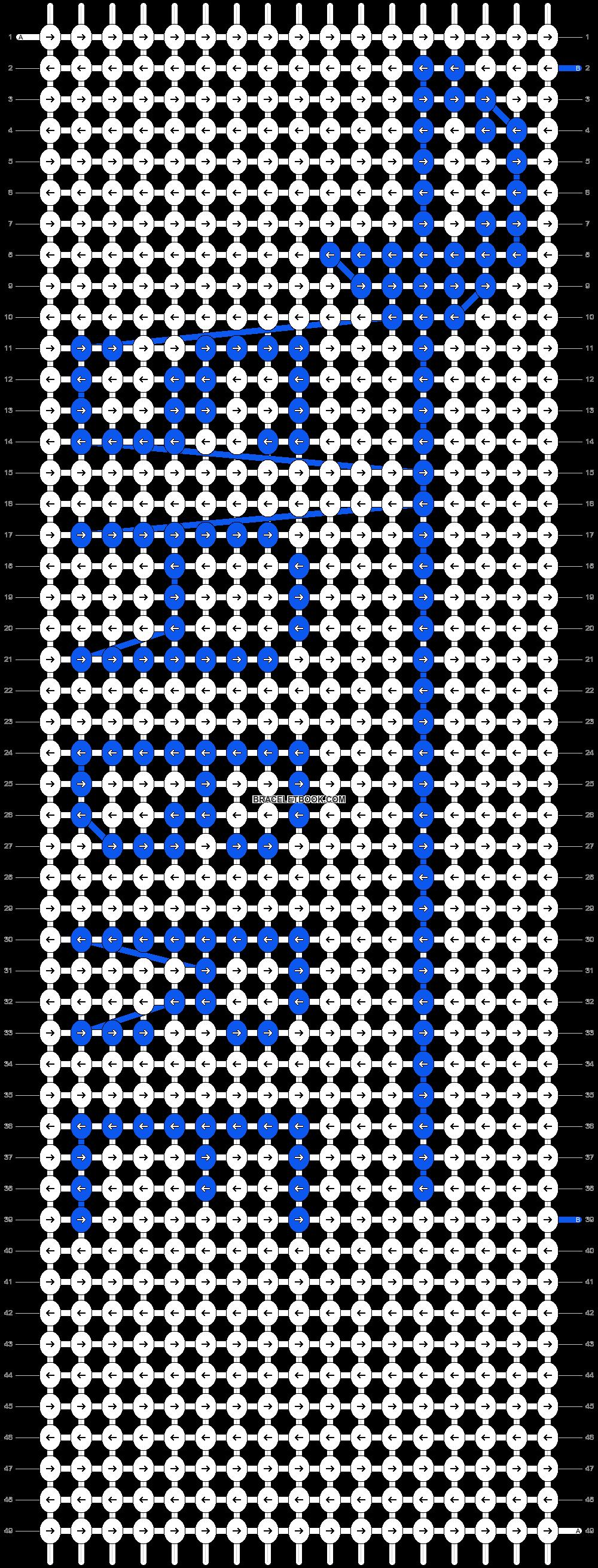 Alpha pattern #18297 pattern