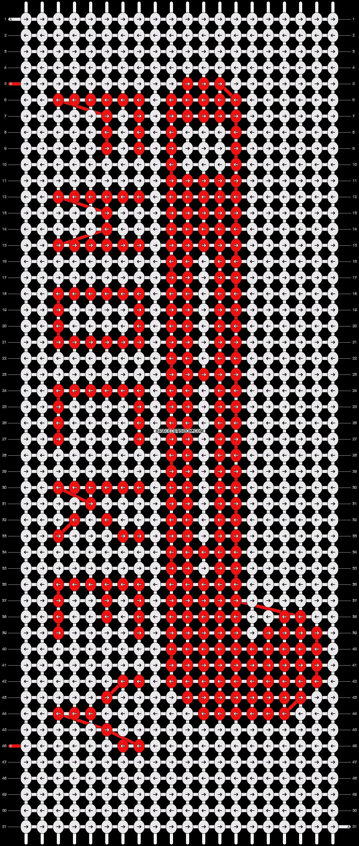 Alpha pattern #18298 pattern