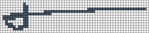 Alpha pattern #18299