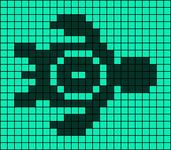 Alpha pattern #18300