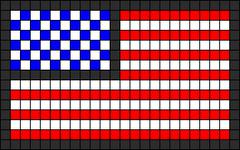 Alpha pattern #18301