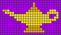 Alpha Friendship Bracelet Pattern #18302