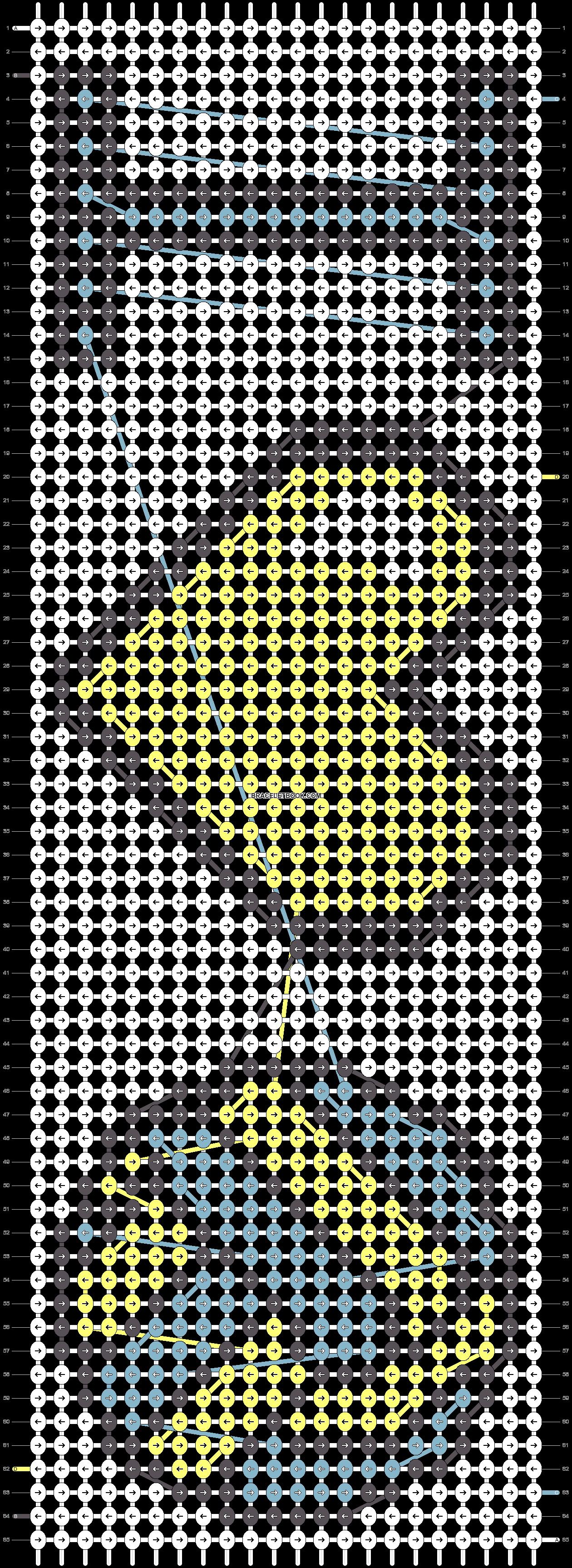 Alpha pattern #18305 pattern