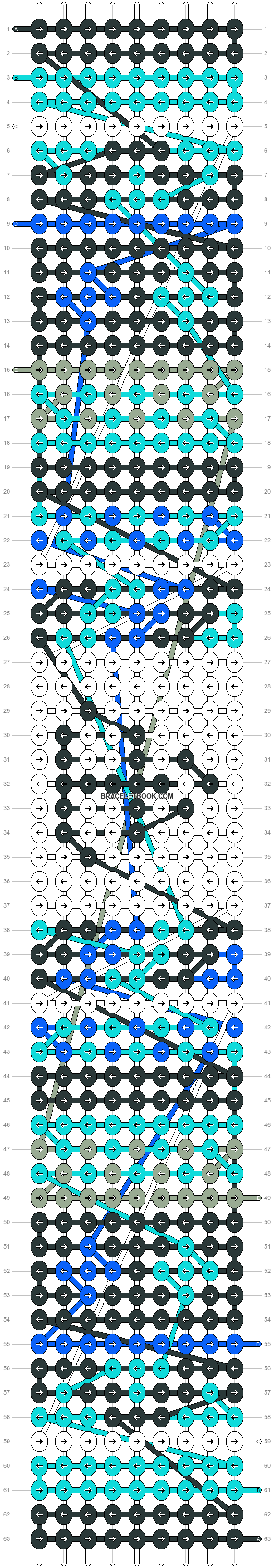 Alpha pattern #18310 pattern