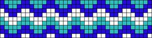 Alpha Friendship Bracelet Pattern #18311