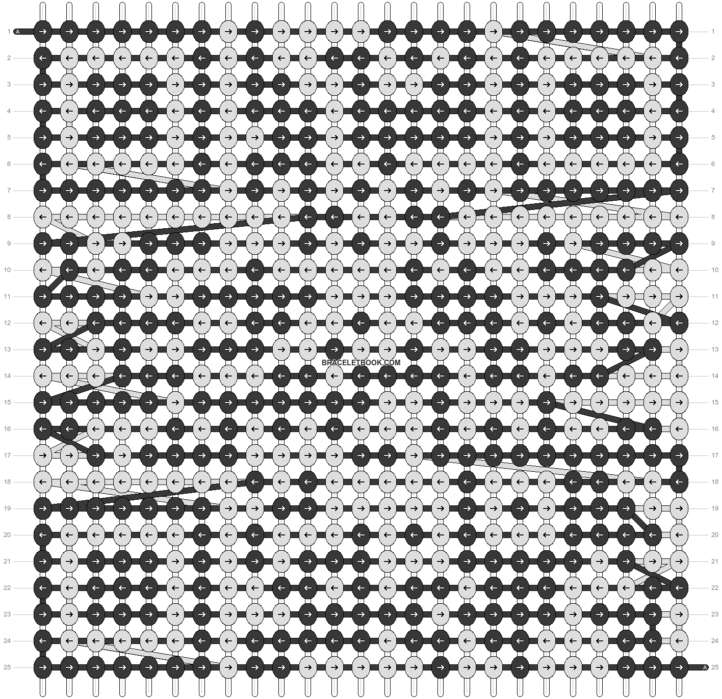 Alpha pattern #18312 pattern