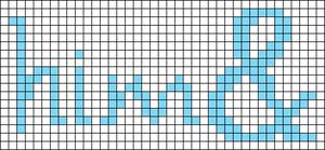 Alpha pattern #18316