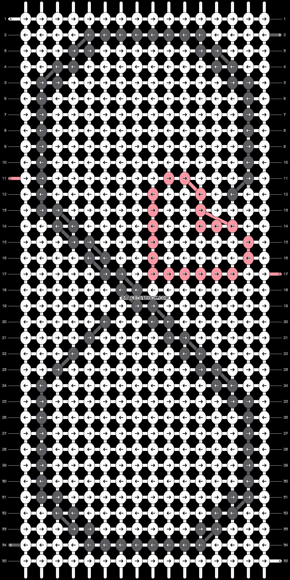 Alpha pattern #18317 pattern