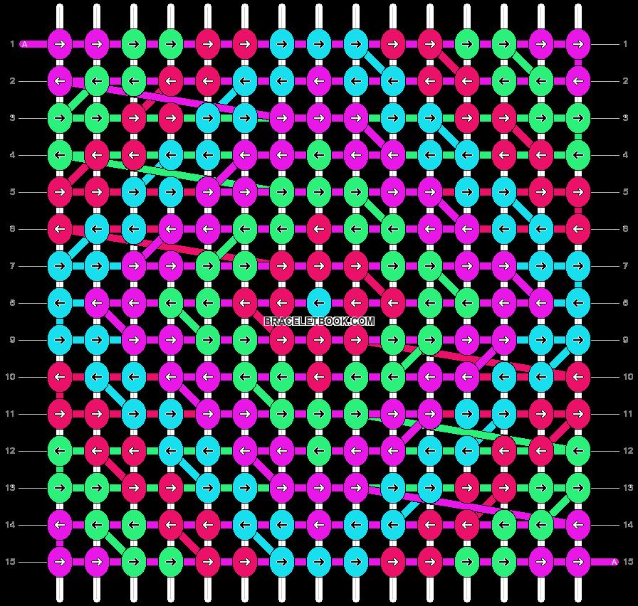 Alpha pattern #18319 pattern
