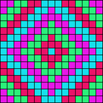 Alpha pattern #18319