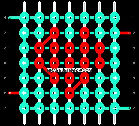 Alpha pattern #18320 pattern