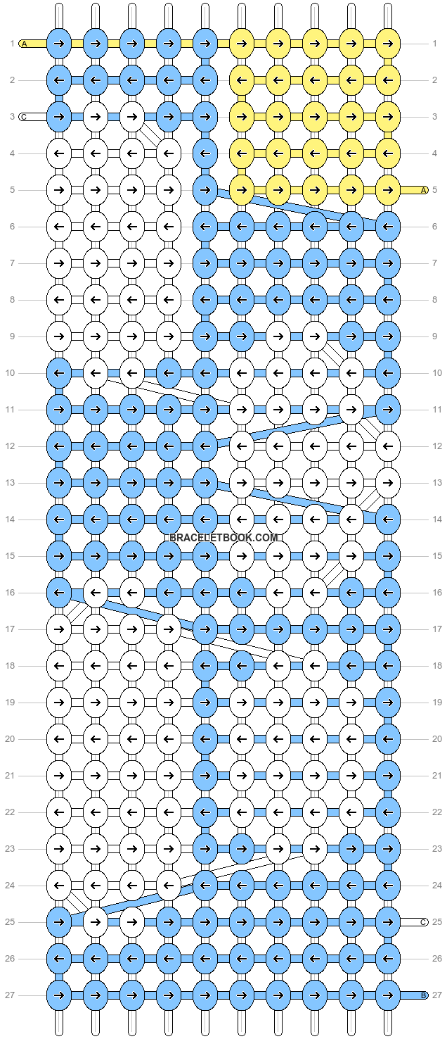 Alpha pattern #18323 pattern