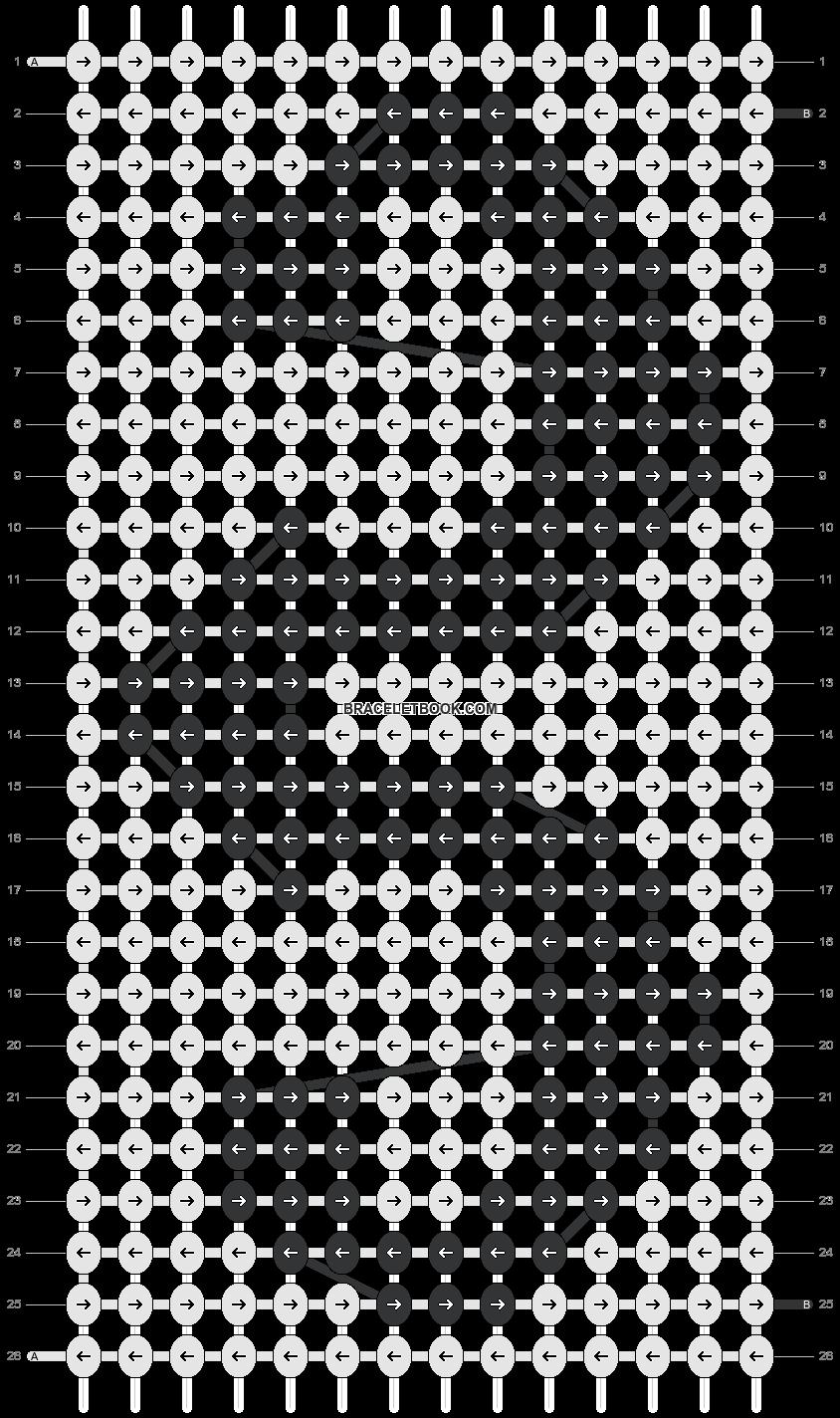 Alpha pattern #18327 pattern