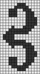 Alpha Friendship Bracelet Pattern #18327
