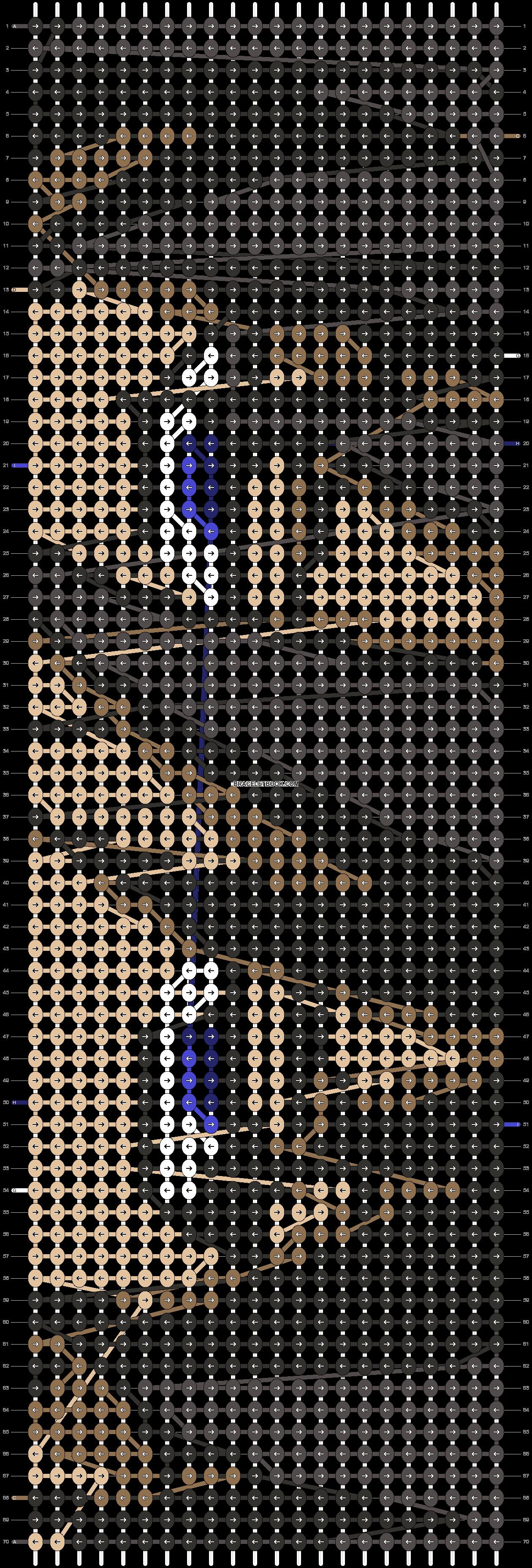 Alpha pattern #18329 pattern
