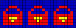 Alpha pattern #18332