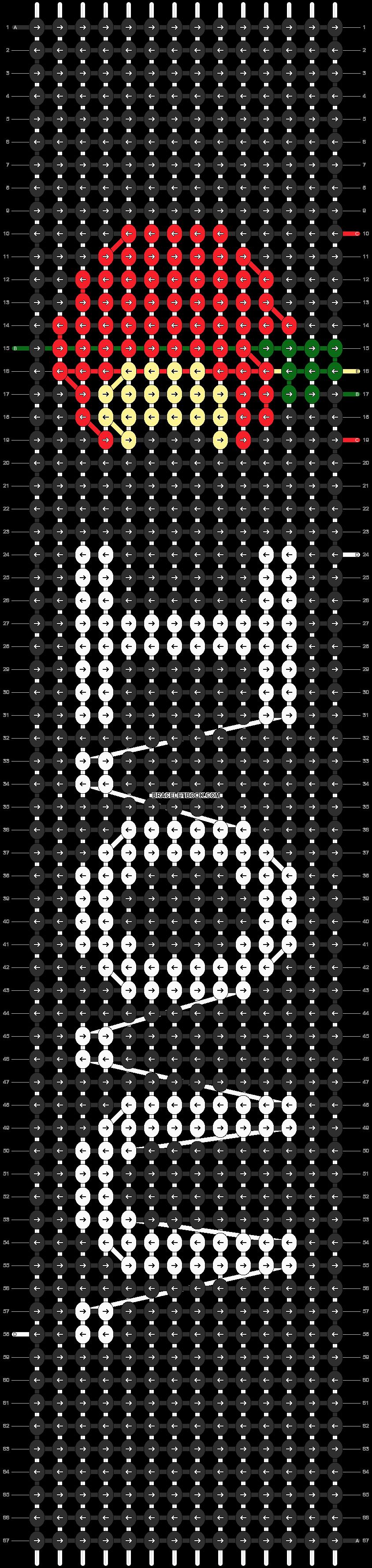 Alpha pattern #18335 pattern