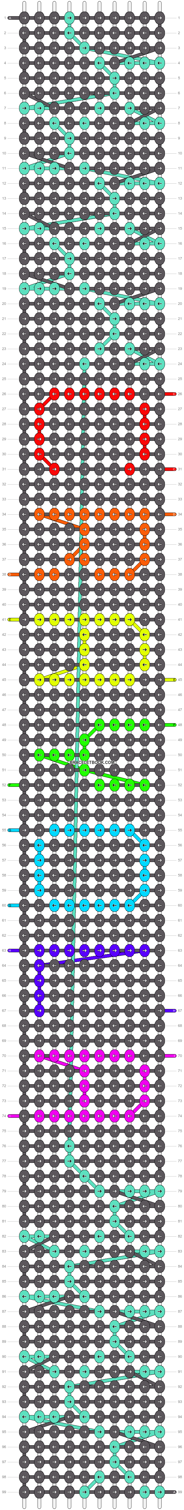 Alpha pattern #18346 pattern