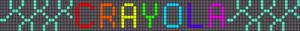 Alpha Friendship Bracelet Pattern #18346