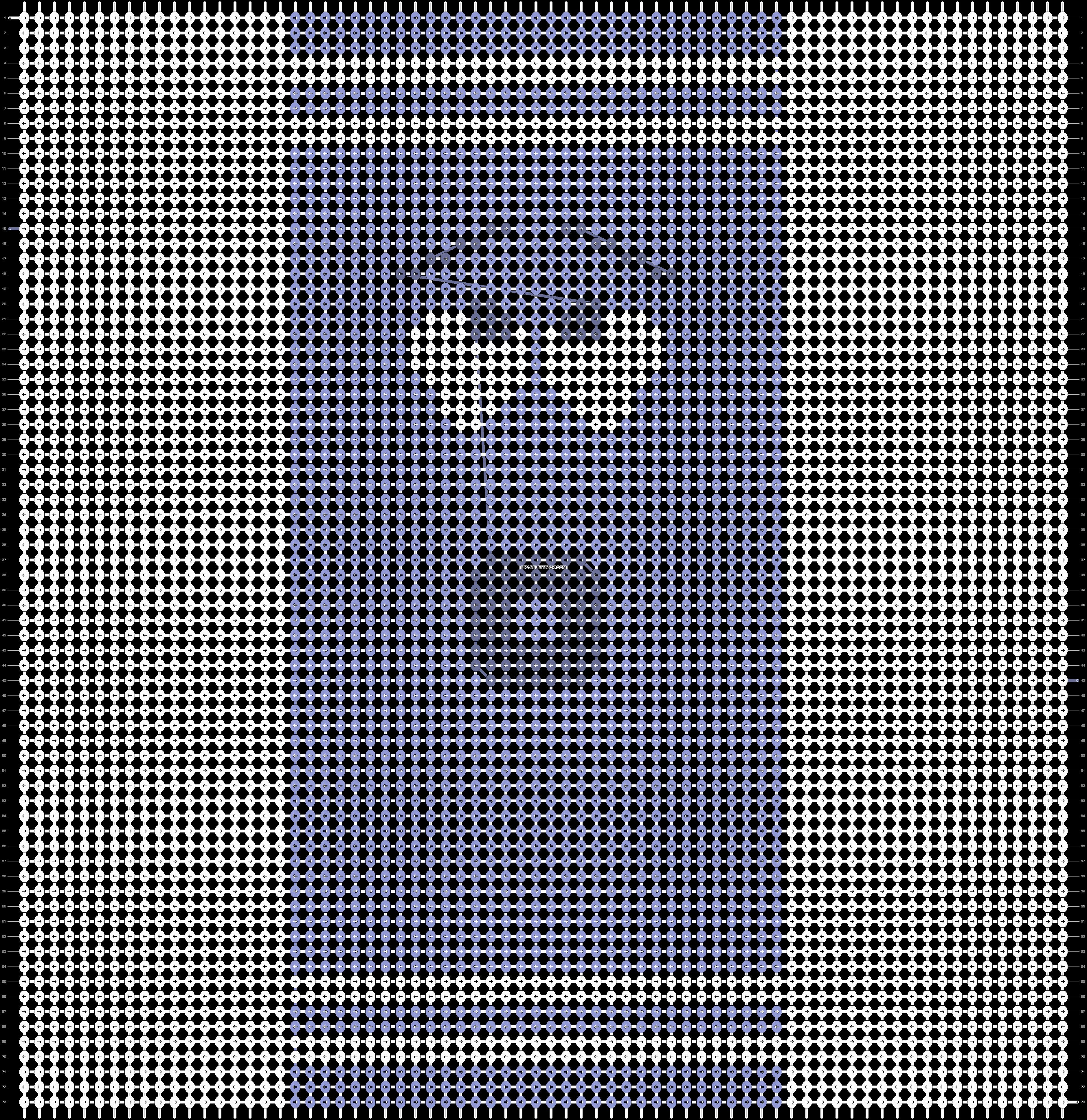 Alpha pattern #18353 pattern
