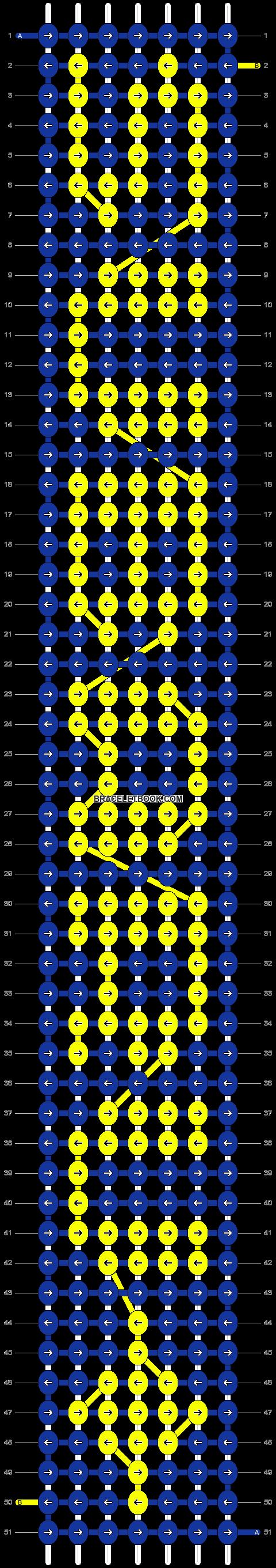 Alpha pattern #18374 pattern