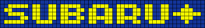 Alpha pattern #18374