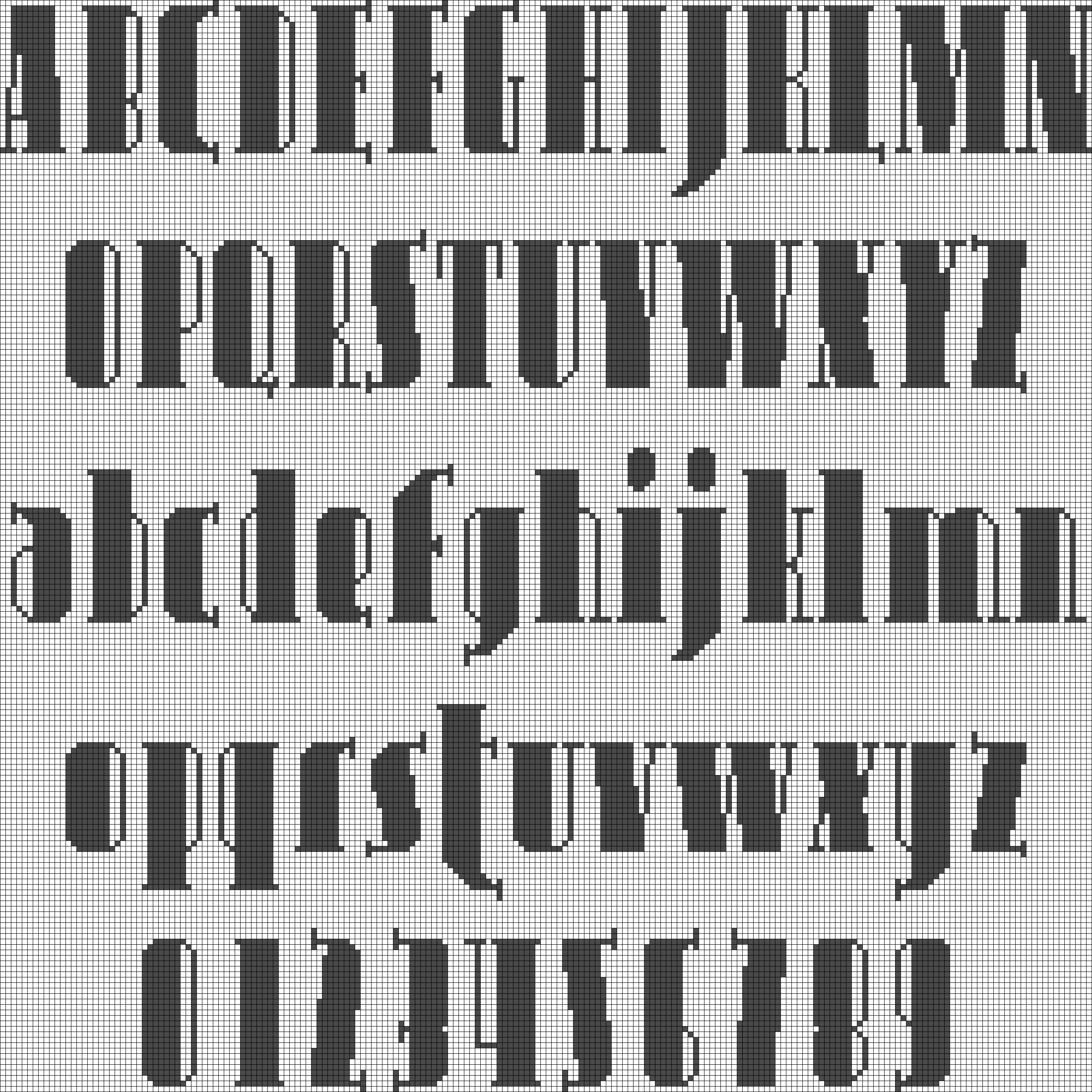 Alpha pattern #18375 preview